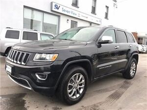 2014 Jeep Grand Cherokee Limited Leather, Sunroof !!!