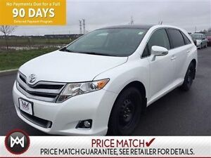 2015 Toyota Venza LE V6 AWD,LEATHER ,NAV ,ROOF 2 SETS OF TIRES A