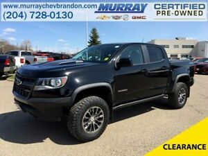 2019 Chevrolet Colorado Crew Cab 4WD ZR2 *Backup Cam* *Heat Leat