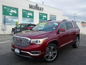 2017 GMC Acadia Denali AWD Heated steering wheel, Hands free pow