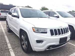 2015 Jeep Grand Cherokee Overland Navigation, Panoramic Sunroof