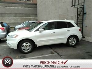2008 Acura RDX TECH PACKAGE: LEATHER, NAV, SUNROOF Fully Loaded