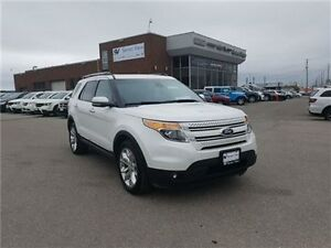 2013 Ford Explorer Limited Navigation, Leather, Dual Sunroof