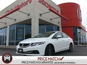 2013 Honda Civic Sdn EX - SUNROOF, HEATED SEATS, BLUETOOTH