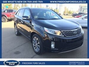 2015 Kia Sorento SX, V6, Navigation, Leather Interior,  AWD