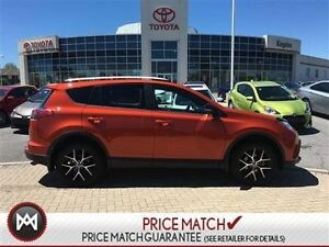 2016 Toyota RAV4 SE ORANGE YOU GLAD?