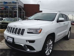 2014 Jeep Grand Cherokee Summit Navigation, Leather. Sunroof !!