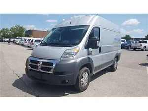 2016 Ram Promaster 2500 High Roof Navigation, Diesel, Rear Camer