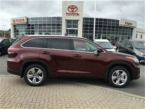 2016 Toyota Highlander LTD AWD New Vehicle!