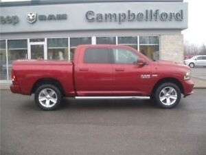 2013 Dodge Ram 1500 Crew Heated Seats Leather 4X4 Power Passenge