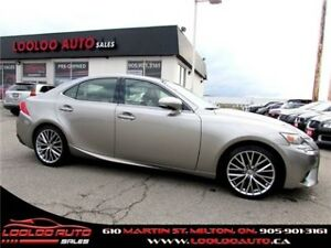 2014 Lexus IS 250 AWD NAVIGATION CAMERA CERTIFIED 2YR WARRANTY