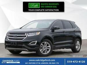 2017 Ford Edge 4DR SEL Fwd- Navigation- Moonroof- Leather- Heate