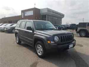 2017 Jeep Patriot Sport AC 16Wheels  Only 2800 KMS !!!