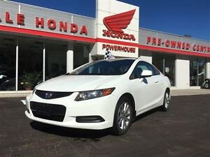 2012 Honda Civic Cpe EX-L. LEATHER! SUNROOF! BLUETOOTH!LOW KMS!!
