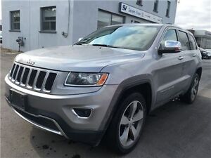 2014 Jeep Grand Cherokee Limited Navigation, Leather, Sunroof !!