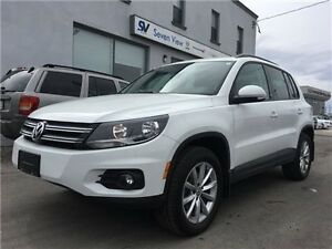 2017 Volkswagen Tiguan Wolfsburg Edition Leather, Only 6000 KMS