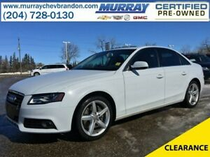 2012 Audi A4 2.0T Premium Plus AWD *Lane Change Assist* *Heated