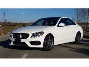 2017 Mercedes-Benz C-Class Navigation, Sunroof, Sport Package, O