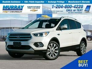 2018 Ford Escape Titanium *Heated Seats, USB Port, ABS Breaks*