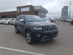 2015 Jeep Grand Cherokee Overland Navigation, Panoramic Roof, On