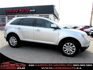 2009 Ford Edge Limited AWD LEATHER BLUETOOTH CERTIFIED