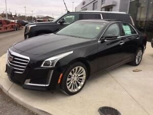 2018 Cadillac CTS Sedan Luxury AWD   Navi   Sunroof   Rear Cam