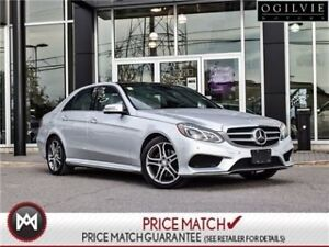 2015 Mercedes-Benz E400 Panoroof, AWD, intelligent drive