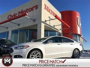 2013 Ford Fusion TITANIUM - AWD, NAVIGATION, LEATHER