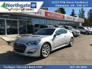 2015 Hyundai Genesis Coupe 3.8 GT Automatic, Heated Leather