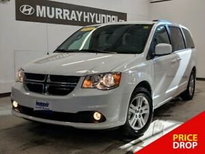 2018 Dodge Grand Caravan Crew Plus *with Heated Seats   Power Dr