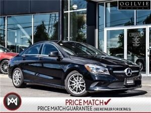 2017 Mercedes-Benz CLA250 Apple car play, panoramic sunroof