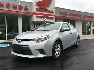 2015 Toyota Corolla LOTS OF REMAINING FACTORY WARRANTY!!!! LOW K