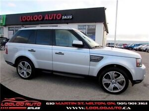 2011 Land Rover Range Rover Sport Supercharged 4x4 Navigation Ca