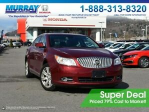 2010 Buick LaCrosse CXL AWD *HEATED SEATS, BLUETOOTH, LEATHER*