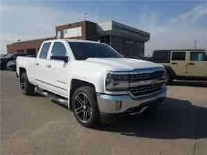 2016 Chevrolet Silverado 1500 LTZ Navigation, Leather, Only 14,