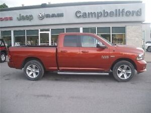 2013 Ram 1500 Sport AIR Suspension Navigation 4X4 8.4 Radio