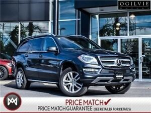 2014 Mercedes-Benz GL350BT Leather upholstry, panoramic sunroof,