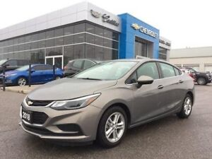 2018 Chevrolet Cruze LT   Sunroof   Bluetooth   Rear Cam