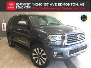 2018 Toyota Sequoia Limited 5.7L | 8 Passenger