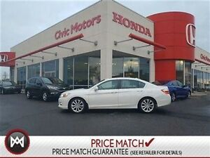 2014 Honda Accord Sedan TOURING - 4YR/100KM WARRANTY, NAVIGATION