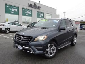 2014 Mercedes-Benz ML350 BlueTEC 4Matic Surround camera, Diesel
