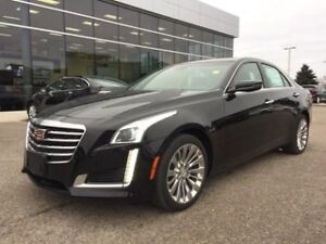 2018 Cadillac CTS Sedan 3.6L Luxury   AWD   Navi   Sunroof   Blu