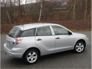 2007 Toyota Matrix Middle Wagon
