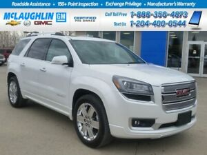 2016 Gmc Acadia *Mint Cond *Local Trade *Low Kms *Loaded