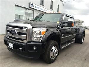 2016 Ford F-350 Platinum Navigation, Sunroof, Only 5000 KMS !!!!
