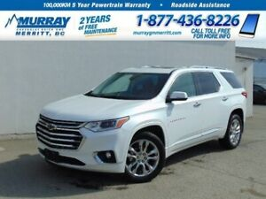 2019 Chevrolet Traverse High Country**Dual Skyscape Sunroof, OnS