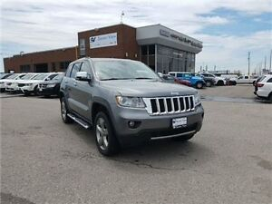 2012 Jeep Grand Cherokee Overland Navigation, Leather, Panoramic