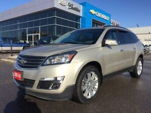 2014 Chevrolet Traverse LT   Sunroof   Bluetooth  7-Seater