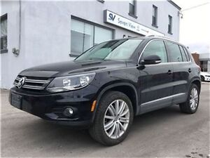 2015 Volkswagen Tiguan Highline Leather, Sunroof !!