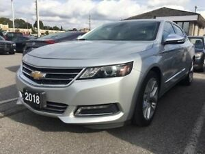2018 Chevrolet Impala Premier   V6   Navi   Sunroof   Bluetooth